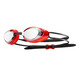 TYR Blackhawk Racing Mirrored duikbrillen Heren rood